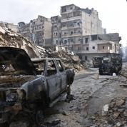 Les images qui témoignent de la violence «inouïe» des combats à Alep