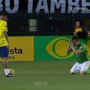 Quand un adversaire supplie Neymar de ne pas l'humilier