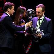 Chapecoense a reçu le trophée de la Copa Sudamericana