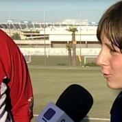 Le Barça ressort des images d'archives de Lionel Messi enfant