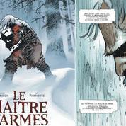 Le Maître d'armes ,une BD française primée au pays du manga
