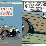 La case BD: Tintin au pays des Soviets ou la naissance de la houppette