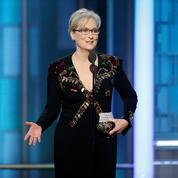 Meryl Streep et Hollywood étrillent Donald Trump lors des Golden Globes