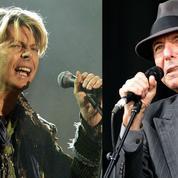 Brit Awards : David Bowie, Leonard Cohen nommés à titre posthume