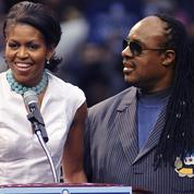Michelle Obama devient la «Chérie Amour» de Stevie Wonder