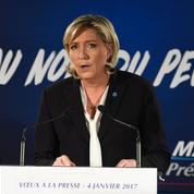 Marine Le Pen compare les médias qui traitent de Macron aux fans de Justin Bieber