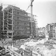 Le Centre Pompidou, vieux beau