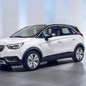 Opel Crossland : né sous X