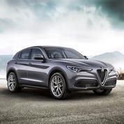 L'Alfa Romeo Stelvio à partir de 57 400 euros