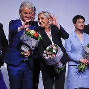 À Coblence, Marine Le Pen et ses alliés européens disent «Goodbye Angela!»