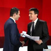 Primaire à gauche : Hamon et Valls qualifiés pour le second tour