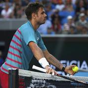 La réponse pleine d'humour de Wawrinka à un spectateur qui encourageait Federer