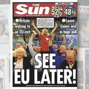 Les tabloïds britanniques enhardis par le Brexit