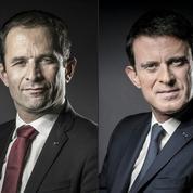 Hamon et Valls: les parcours croisés de deux socialistes ambitieux que tout oppose