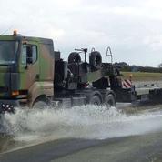 Un porte-char militaire disparaît à Istres
