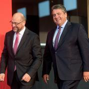 Face à Merkel, Gabriel renonce et Schulz entre en campagne