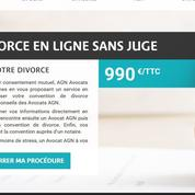 En ligne, un divorce pour 990euros tout compris