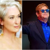 Elton John s'attaque au morceau de la comédie musicale Le Diable s'habille en Prada