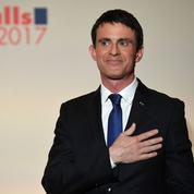 Sèchement battu, Valls souhaite «bonne chance» à Hamon