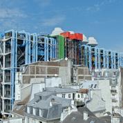 Géographie des galeries d'art du quartier Beaubourg