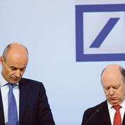 Deutsche Bank à nouveau dans le rouge en 2016