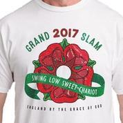 6fa38dec1d6e9 Des t-shirts célébrant le Grand Chelem de l Angleterre en vente avant le  même le Tournoi