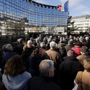À Chartres, des médecins manifestent contre la violence