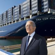 CMA CGM : Jacques Saadé cède les commandes à son fils aîné