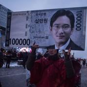 L'héritier de Samsung a été arrêté