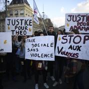 Faible mobilisation à Paris contre les violences policières