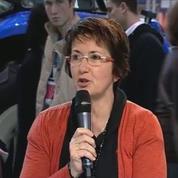 Christiane Lambert, présidente par intérim de la FNSEA