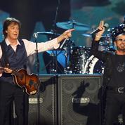 Paul McCartney et Ringo Starr réunis à nouveau en studio