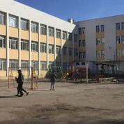 En direct vidéo du camp de migrants de Voenna Rampa en Bulgarie