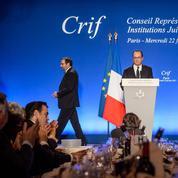 La présidentielle s'invite au dîner du Crif
