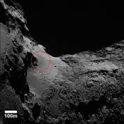 D'étonnantes dunes à la surface de la comète Tchouri