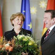 Merkel revendique l'héritage de Schröder