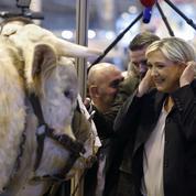 Salon de l'agriculture: le marathon de Le Pen pour apaiser les agriculteurs