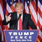Donald Trump face au Congrès américain, quand le candidat devient président