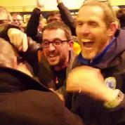 L'explosion de joie d'Avranches après le tirage au sort face au Paris SG