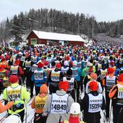 Affluence au rendez-vous pour la plus longue course de ski de fond du monde