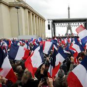 Au Trocadéro: «Si Fillon est sorti, beaucoup vont voter extrême»