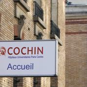 Suicide à l'hôpital Cochin