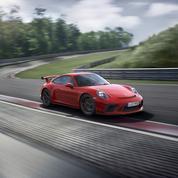 Porsche 911 GT3, 500 ch et la boîte méca