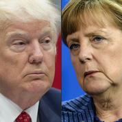 Angela Merkel et Donald Trump brisent la glace