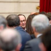 À l'Élysée, François Hollande occupe le temps qu'il lui reste