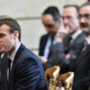 Le spectre de Hollande hante la campagne de Macron