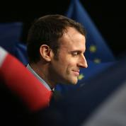 À Reims, Macron prend le Front national pour cible