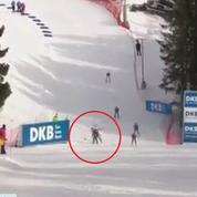 Une biathlète française percute un écureuil en pleine course