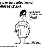 Les meilleurs tweets du débat de TF1 pour la présidentielle