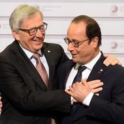 La petite blague de Hollande et Juncker sur les costumes de Fillon